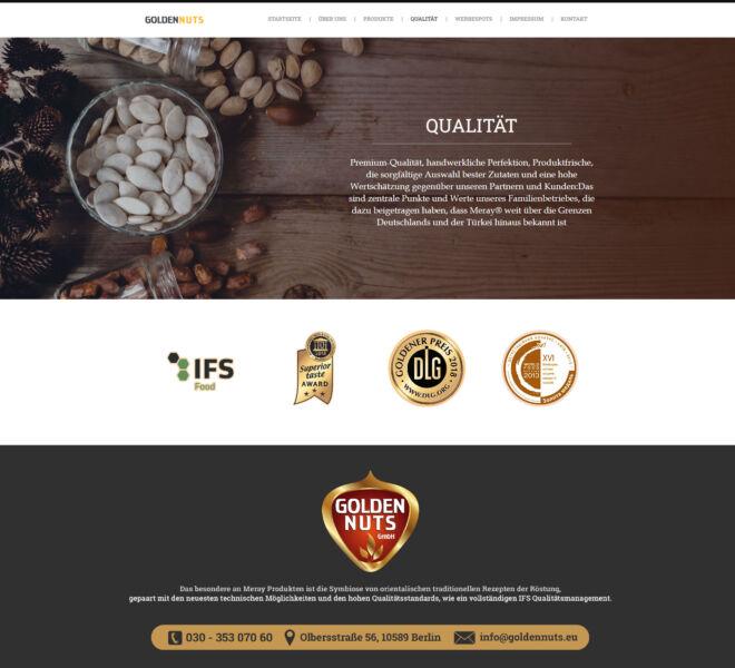 Golden-Nuts-Qualität