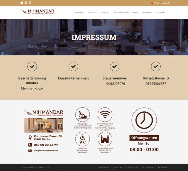 Mihmandar-İmpressum