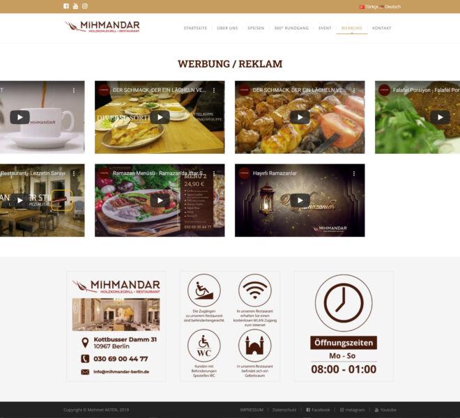 Mihmandar-Werbung