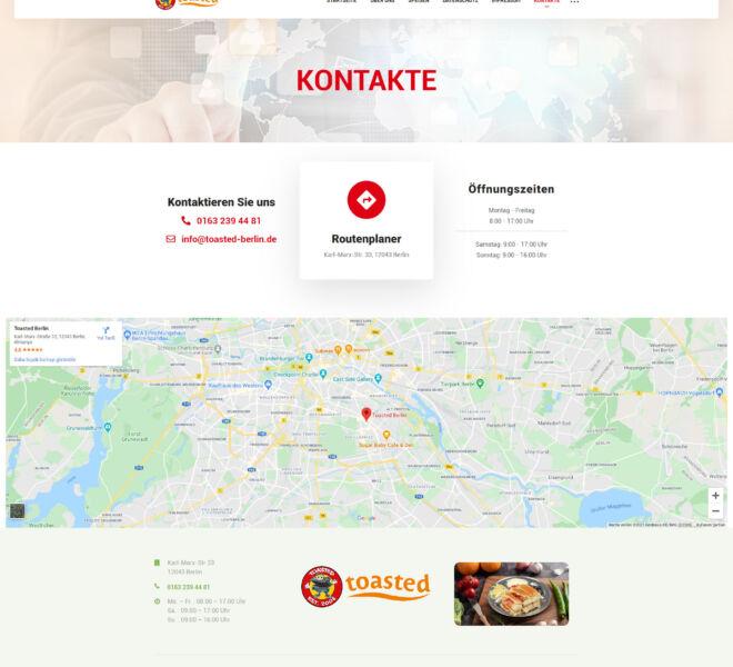 Toasted-Berlin-Kontakte