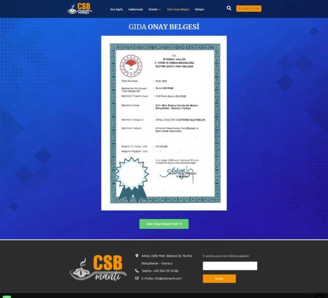 CSB-Mantı-Web-Site-Gıda-Onay-Belgesi