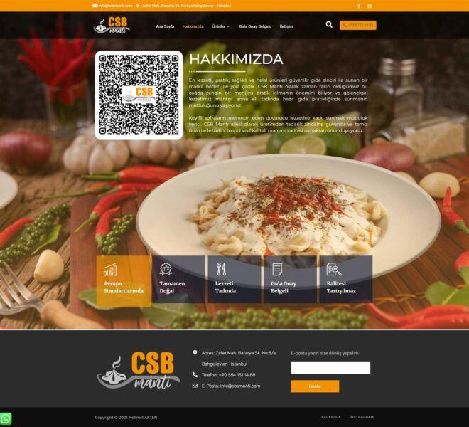 CSB-Mantı-Web-Site-Hakkımızda