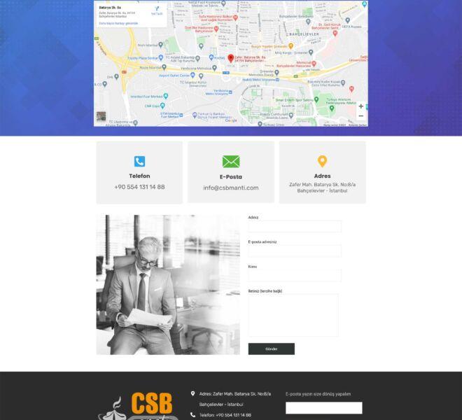 CSB-Mantı-Web-Site-İletişim